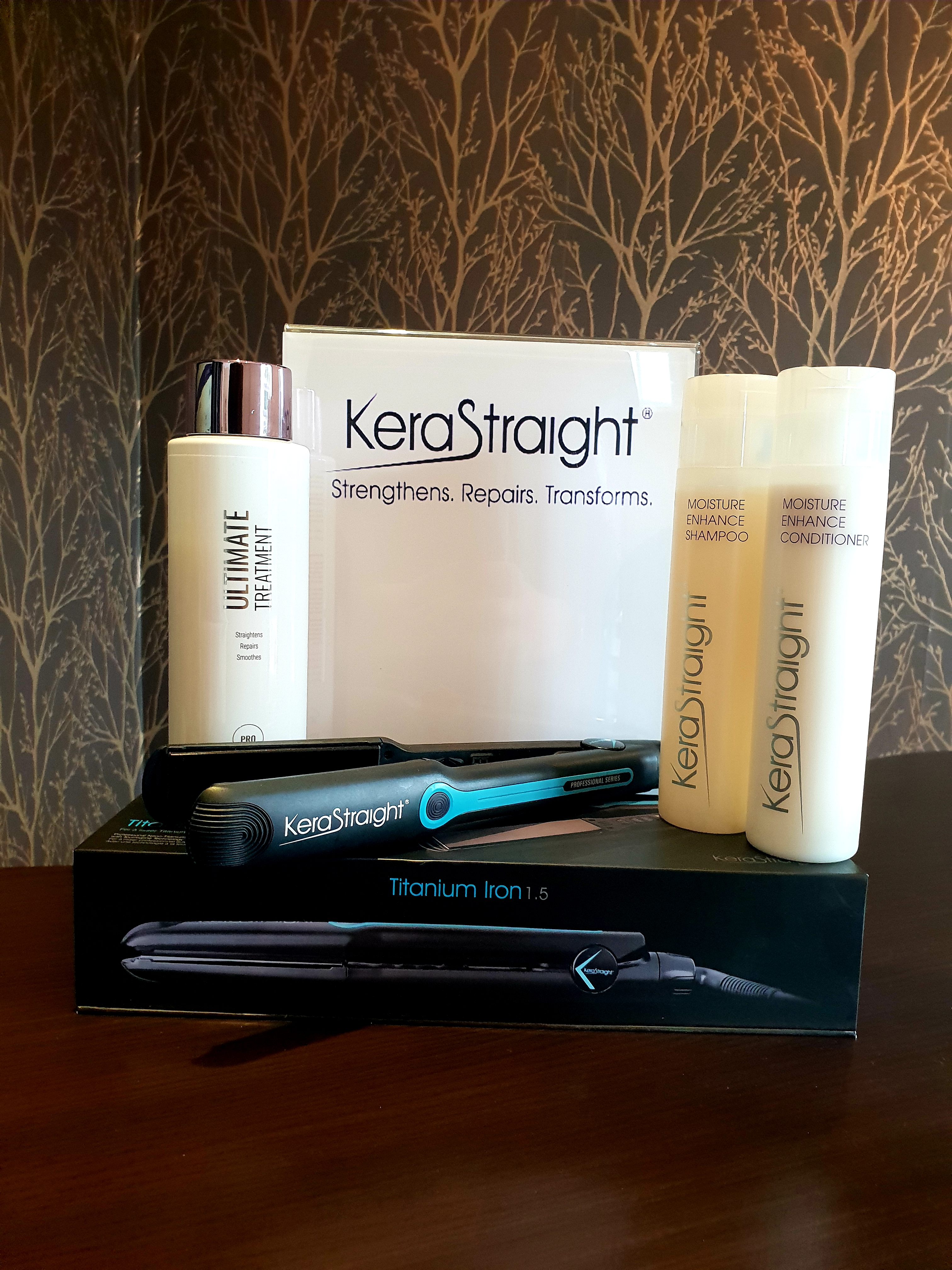 Want smoother more manageable hair for upto 6 months? Try Kerastraight!